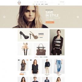 Дизайн темплейт за онлайн магазин на PrestaShop